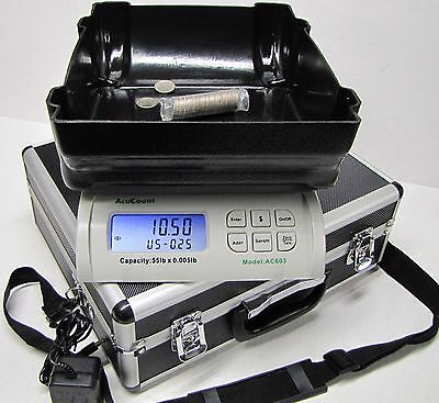 AcuCount AC 603 Coin and Money Counter coin counter scale