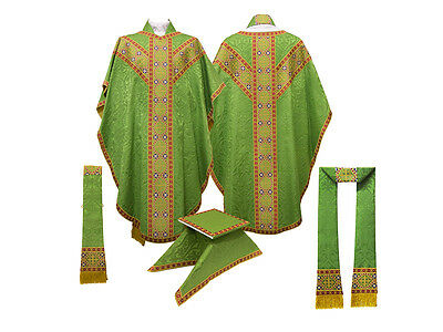 Green Chasuble / Church Vestments NEW