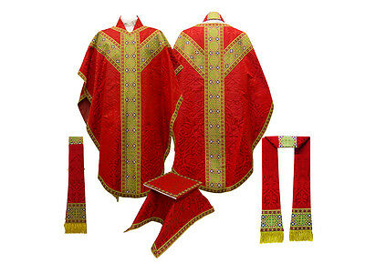 Red Chasuble / Church Vestments NEW