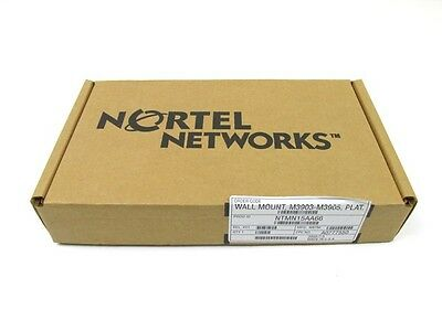 New! Nortel Networks NTMN15AA66 Wall Mount for M3903-M3905 Phones Platinum