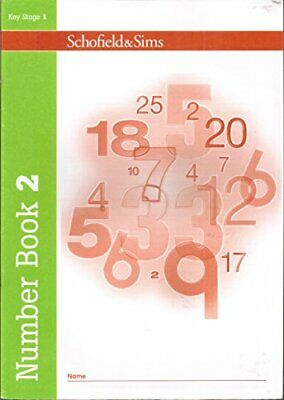 Number Book 2 (of 5): Early Years/Key Stage 1 by Schofield & Sims Paperback The