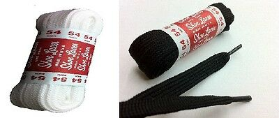 (2 Pairs) Athletic Flat Shoelaces Sport Sneakers Shoe Strings Boot Laces