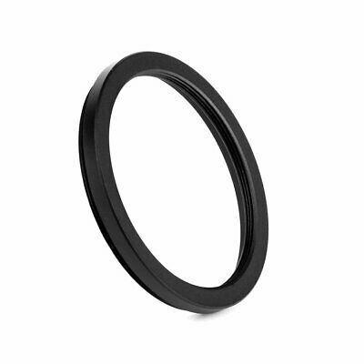 43mm-49mm 43-49mm 43mm to 49mm Metal Step Up Lens Filter Ring Adapter Black