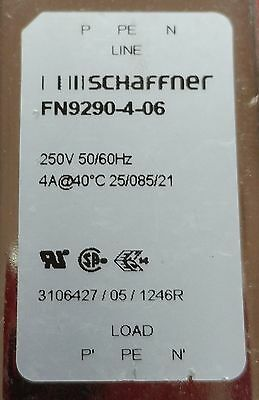 Schaffner FN9290-4-06 - AC Power Entry Modules 4A Dual Stage Filter