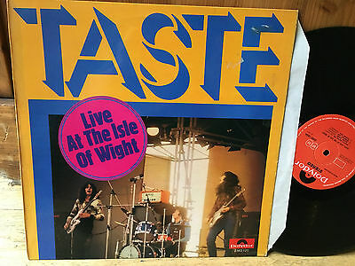 LP  UK  Taste  ‎– Live At The Isle Of Wight