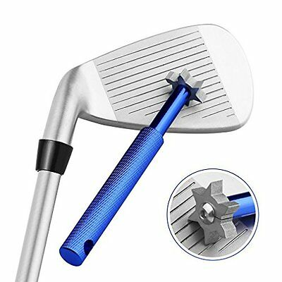 Cotop Golf Club Groove Sharpener Cleaning Tool with 6 Cutters for Optimal and