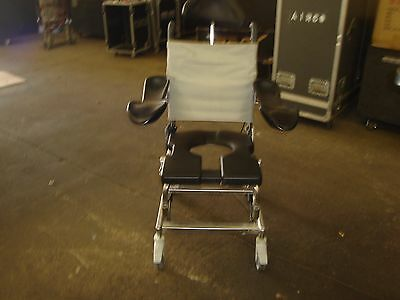 Raz-AT Design Inc Stainless Shower/Commode Tilting Chair FREE SHIPPING