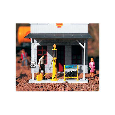 Piko G Scale Shell Gas Pump & Accessories | Ships In 1 Business Day | 62284