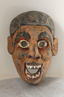 Antique NEPAL Tharu mask, excellent piece