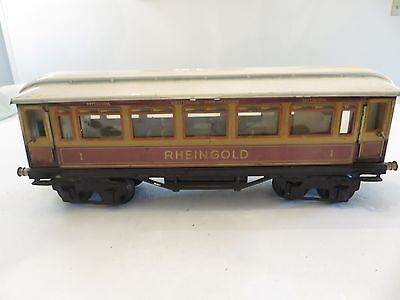 Marklin   Gauge 1  Rheingold Wagon with Interior