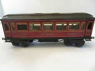 Marklin   Gauge 1  Mitropa Dining  Wagon with Interior