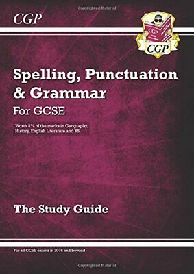 Spelling, Punctuation and Grammar for Grade 9-1 GCSE Study Guide... by CGP Books