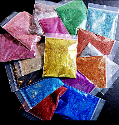 100g Glitter Pixie Dust Powder Crafts Nails Body Tattoo Makeup Walls Decoration