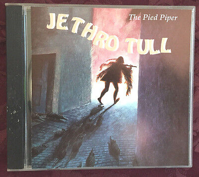 RARE JETHRO TULL THE PIED PIPER LIVE IN EUROPE 1992 OOP IMPORT CD ian anderson