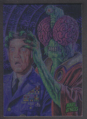 Mars Attacks Occupation - Base Card Foil Parallel - # 26