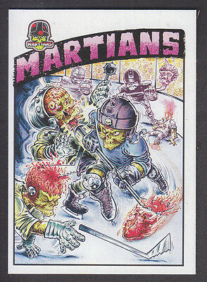 Mars Attacks Occupation - Superstars Insert Card - # 2