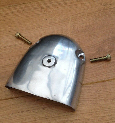 Lambretta Gp Series 3 Polished Air Scoop And Fixings.brand New