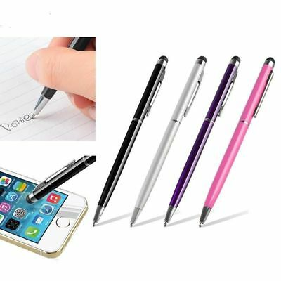 Capacitive Stylus Touch Screen LCD 2in1 Ballpoint Pen for iPad iPhone Tablet