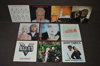 "EURYTHMICS 21 LP VINYL ALBUMS LOT COLLECTION 1984/Touch/Be Yourself/12"" SINGLES+"