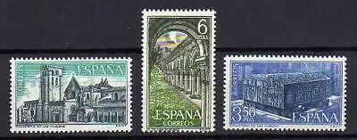 A7784) SPAIN 1969 Scott#1592/94 MNH** Las Huelgas 3v