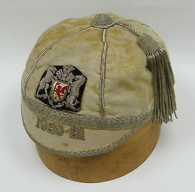 Cardiff Rugby Club, Wales 1920-21  Honours  Cap - Tommy Johnson