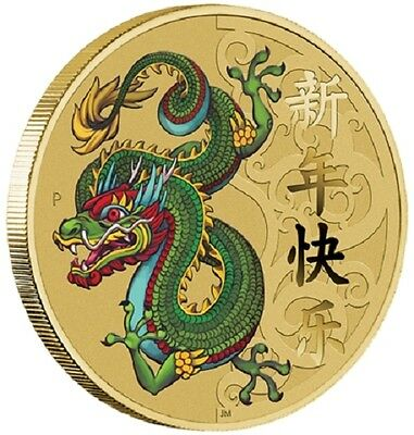 2016 Chinese New Year Stamp and Coin Cover - Perth Mint