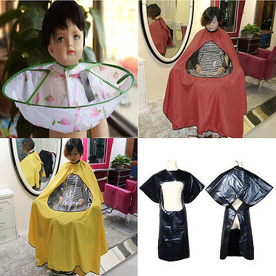 Pro  Waterproof Salon Hair Cutting Gown Hairdressing Barber Cape Wrap Cloth Tool