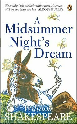 A Midsummer Night's Dream (Penguin Shakespe... by Shakespeare, William Paperback