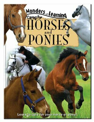 Horse and Pony Care Hardback Book The Cheap Fast Free Post