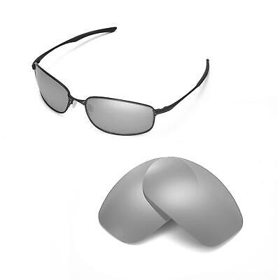 c09440958f3 New Walleva Polarized Titanium Replacement Lenses For Oakley Taper  Sunglasses