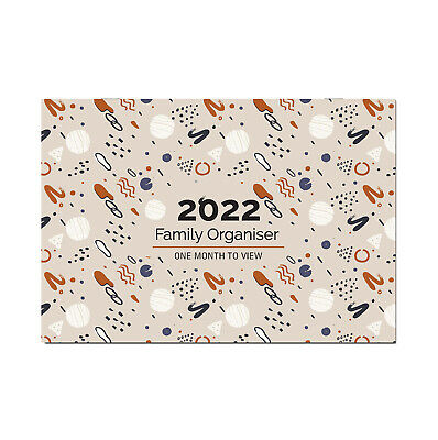 2020 Family Appointment Planner/Calendar One Month to View/home/office