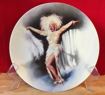 """1992 Delphi Marilyn Monroe """"There's No Business Like Show Business"""" Plate 3735A"""