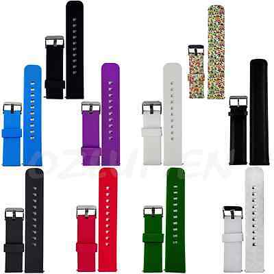 Silicone Watch Band Strap for Pebble Classic / Pebble Time / Time Steel 22mm