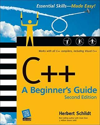 C++: A Beginner's Guide, Second Edition by Schildt, Herbert Paperback Book The