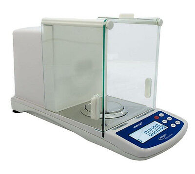 Intelligent PX-200 Analytical Lab Balance 200g X 0.1 mg,Calibration Weight,New