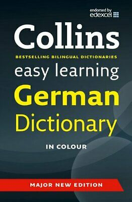 Easy Learning German Dictionary (Collins Easy Learnin... by Collins Dictionaries