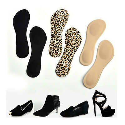Heel Foot Cushion&Pad 3&4 Insole Shoe pad For Vogue Women Orthotic Arch Support