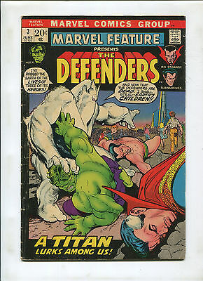 Marvel Feature #3  (6.0) 3Rd Appearance Of The Defenders