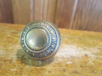 Antique Brass Door Knob Victorian Ornate A
