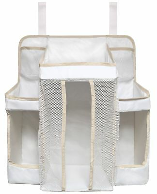 Dexbaby Diaper Caddy and Nursery Organizer for Baby's Essentials White on... New