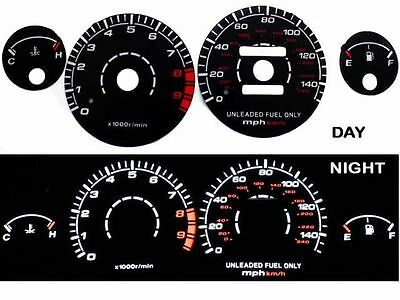 94-01 Integra RS//GS//LS MT Blue Indiglo Glow White Gauges