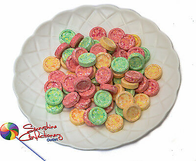 Fruity Tingle Discs  -  370g  -  OLD SCHOOL LOLLIES, PARTY CONFECTIONERY