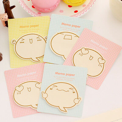 Hot Sticky Notes Kawaii School Supplies Memo Pad Planner Stickers