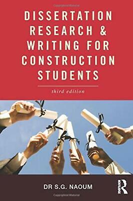 dissertation research and writing for construction students paperback Dissertation research and writing for construction students, by shamil g  to students - unless you have a comprehensive book that guides through the.