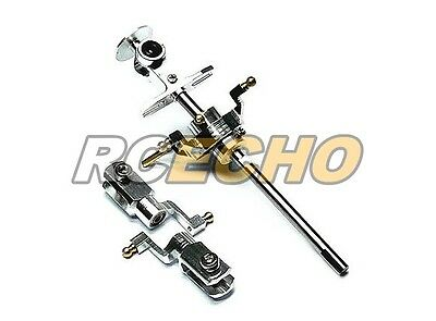 Flybarless Metal 2 Blades Rotor Head for Super CP Mini Genius Helicopter RH700