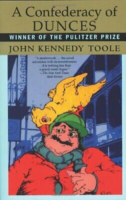 A Confederacy of Dunces (Evergreen Book) by Toole, John Kennedy Paperback Book