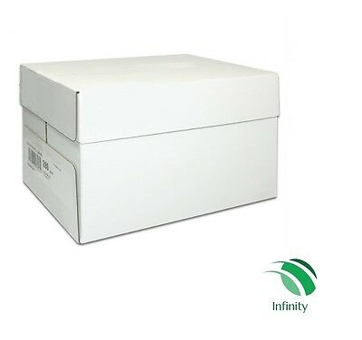 Infinity Paper 2500 Sheets New Box 80GSM White A4 Paper - Photocopy and Printing