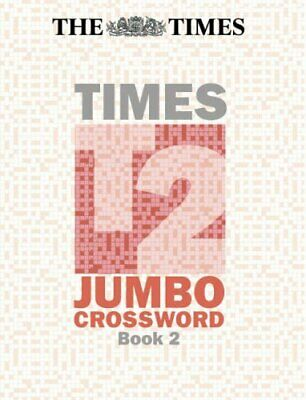 The Times T2 Jumbo Crossword Book 2: Bk. 2 Paperback Book The Cheap Fast Free
