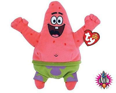 Ty Spongebob Patrick Best Day Ever Beanie Babies Soft Toy New With Tags