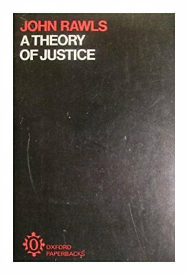 A Theory of Justice (Oxford Paperbacks), Rawls, John Paperback Book The Cheap